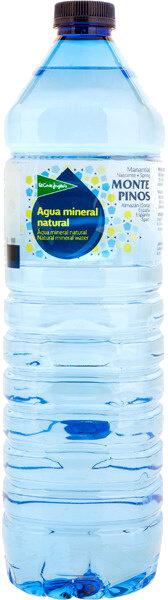 Agua mineral natural Monte Pinos - Produit - es