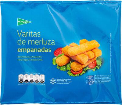 Varitas de merluza empanadas - Produit - fr