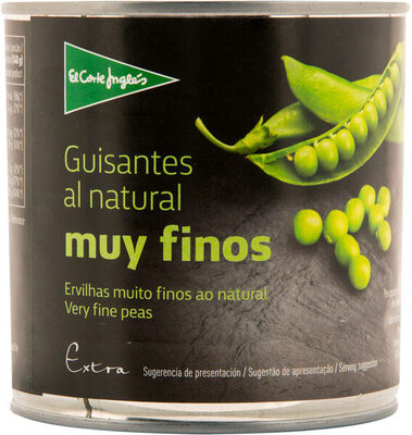 Guisantes al natural muy finos - Produit - es