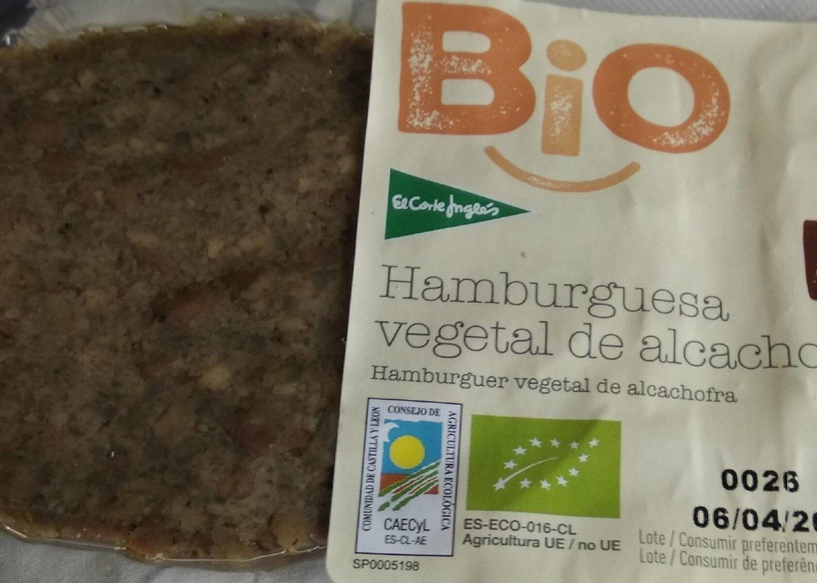 Bio Hamburguesa Vegetal de Alcachofa - Producto - es