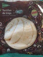 Tortillas mejicanas de trigo 8 unidades envase 320 g - Produit - es