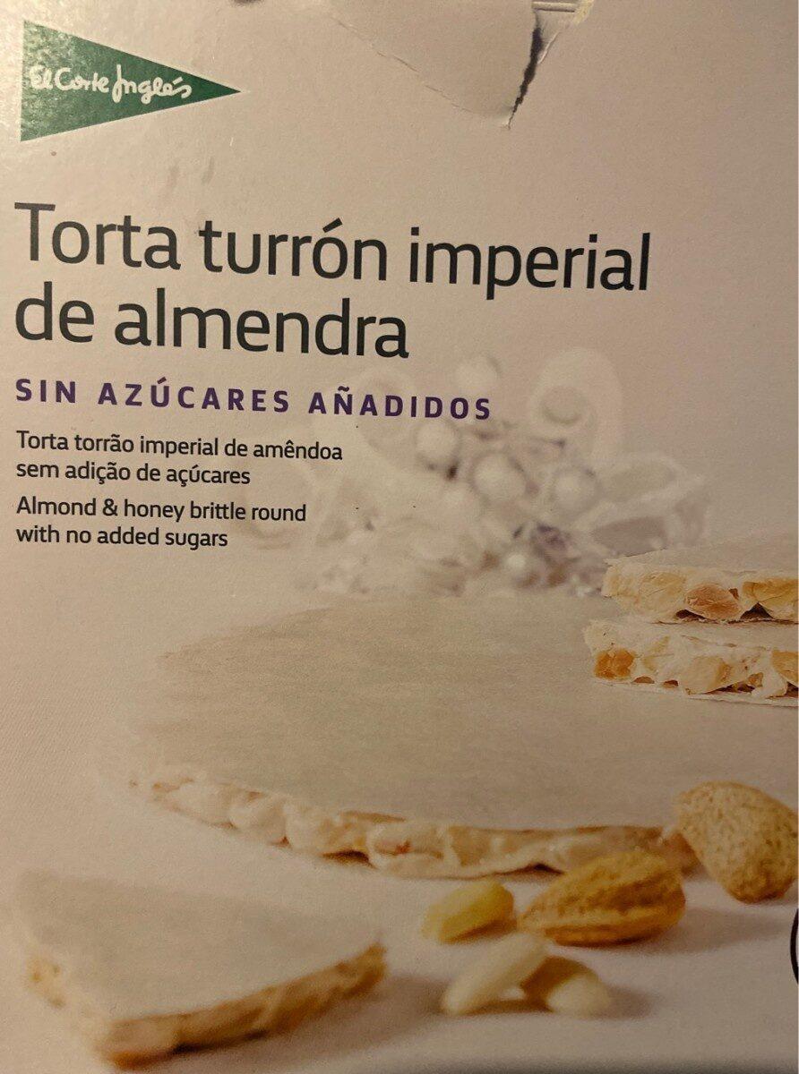 Torta turrón imperial de almendra - Producto - es