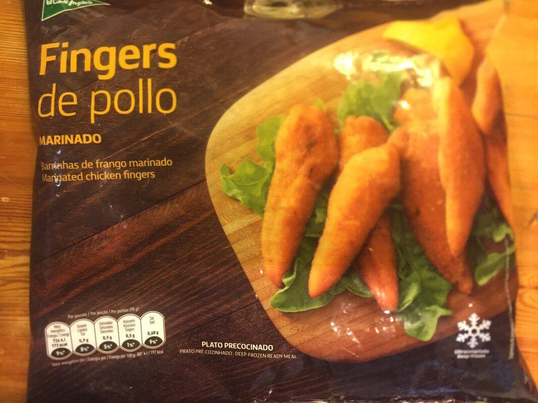Fingers de pollo marinado - Produit - es