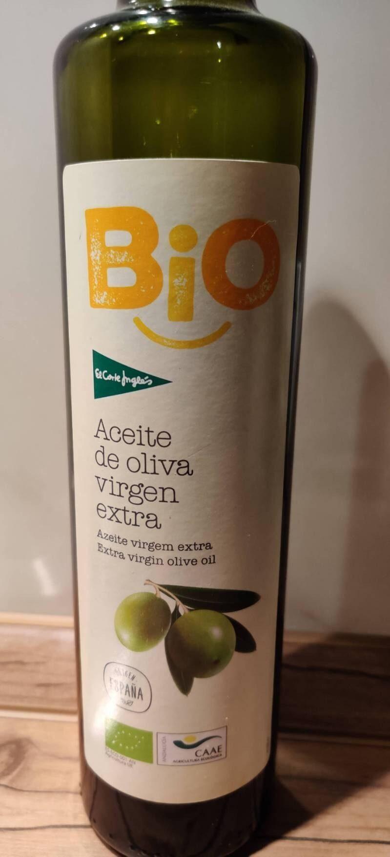Aceite de oliva virgen extra ecológico botella 500 ml - Producto