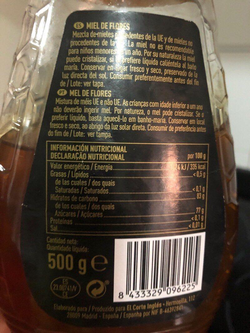 Miel de flores antigoteo - Ingredientes - es