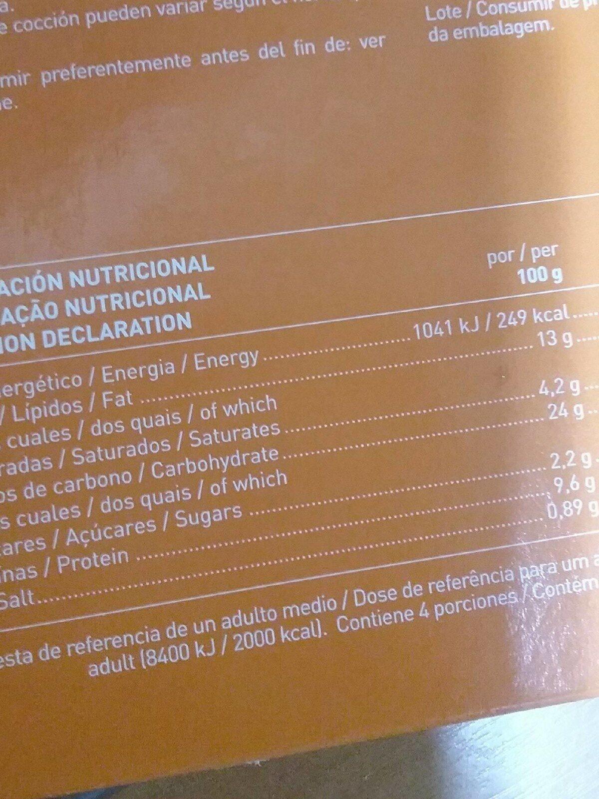Pizza cuatro quesos masa fina - Produit - fr