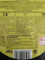 Tortilla de patata fresca con cebolla - Informations nutritionnelles - es