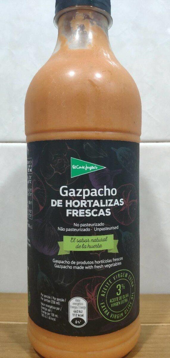Gazpacho de hortalizas frescas - Producto - es