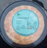 Tortilla de patata fresca con huevos camperos sin cebolla - Produit - es