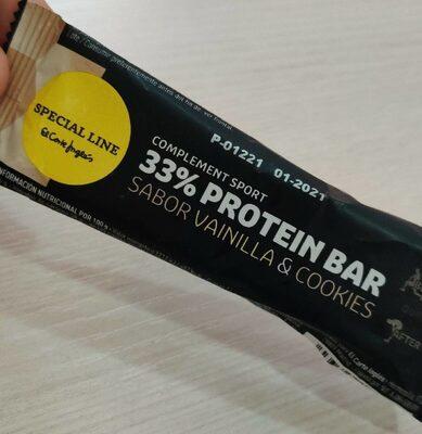 Protein bar vanilla & cookies - Product - en