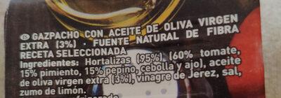 Gazpacho tradicional - Ingredientes - es