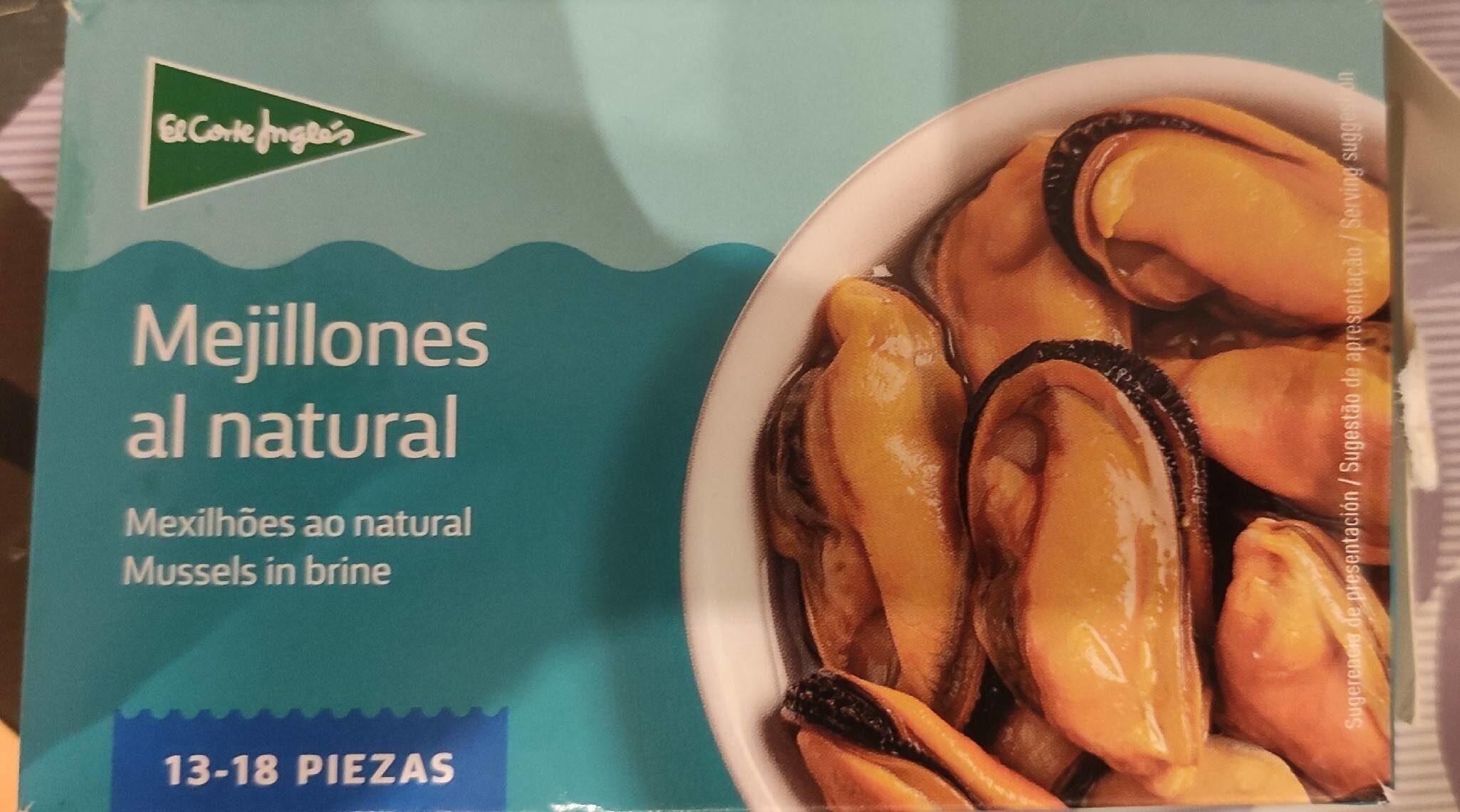 Mejillones al natural - Product - es