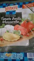 Demi-lune tomate basilic mozzarella - Produit