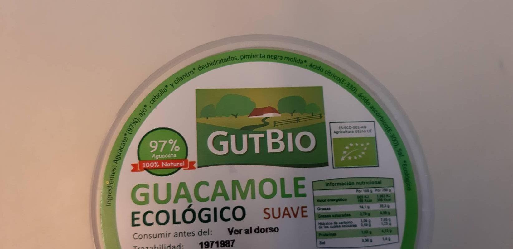 Guacamole ecológico suave - Ingredientes - es