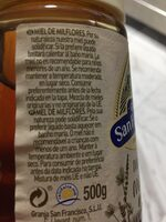 Granja San Francisco Mel Amb Dosificador - Ingredientes - fr