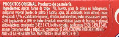 Phoskitos Original - Ingredients