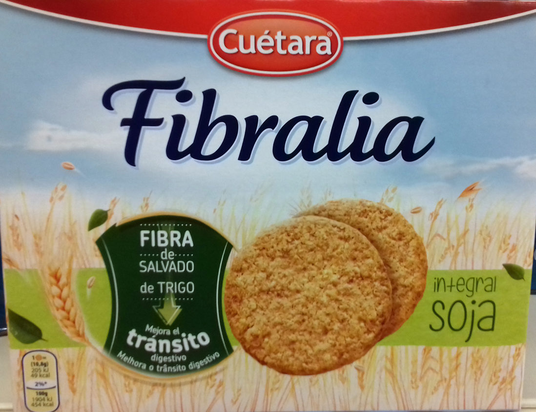 Fibralia integral soja - Product - es