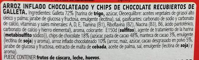 Choco Flakes - Ingredients - es
