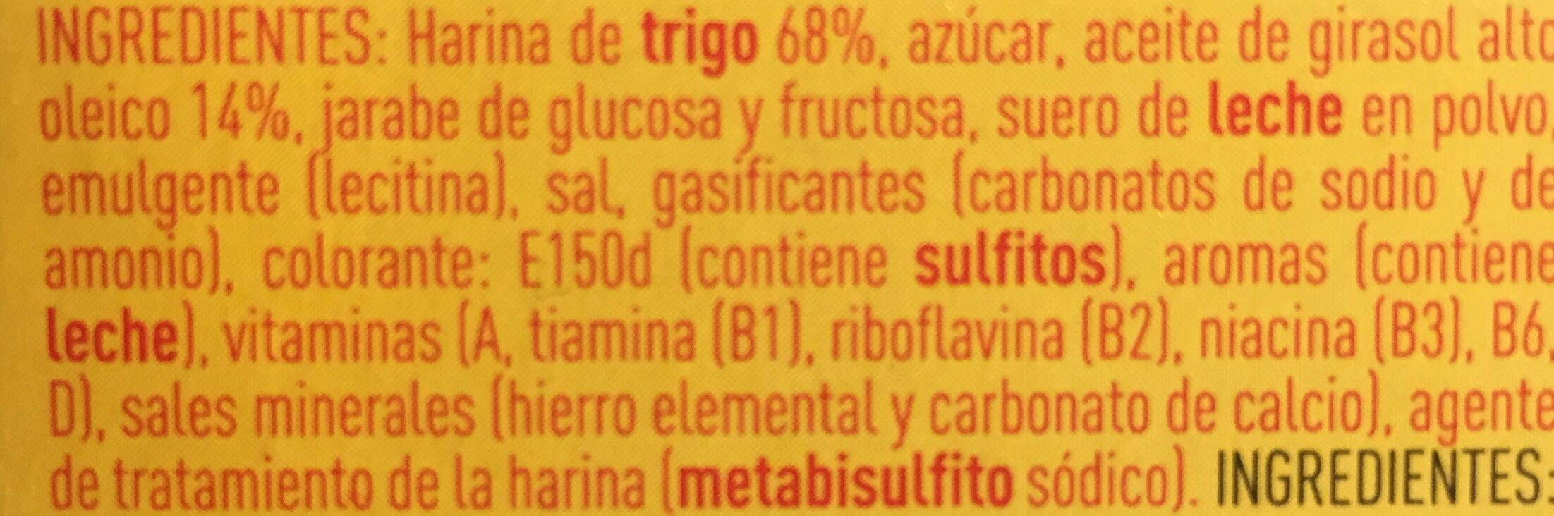 TostaRica - Ingrediënten