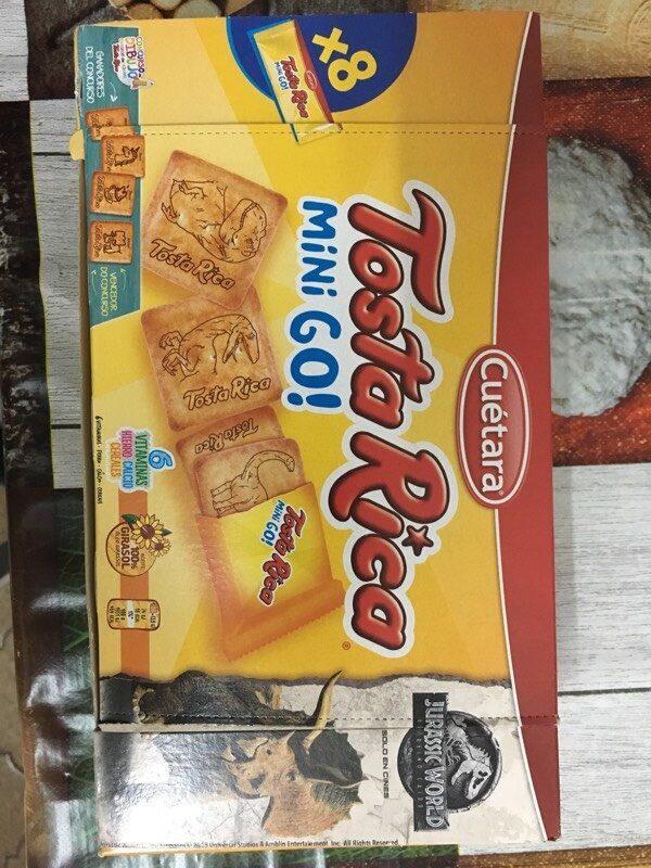 Galletas Tosta Rica Mini Go Cuétara - Product