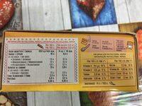 Galletas Tosta Rica Mini Go Cuétara - Nutrition facts