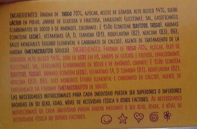 Galletas Tosta Rica - Ingrediënten