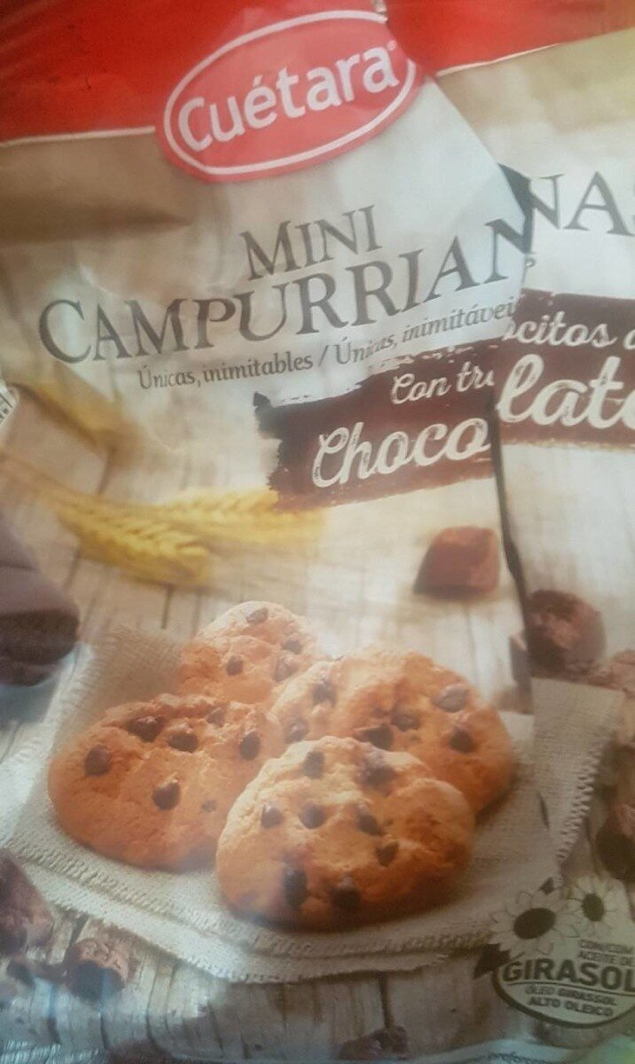 Mini Campurrianas con trocitos de chocolate - Product