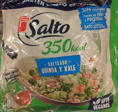 Salteado quinoa y kale