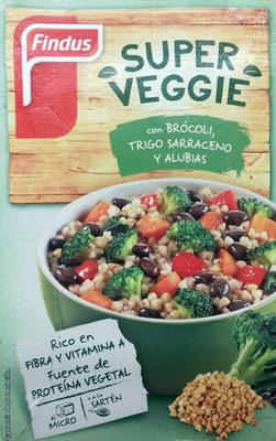 Super Veggie con brócoli, trigo sarraceno y alubias - Producto