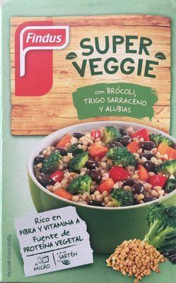 Super Veggie con brócoli, trigo sarraceno y alubias - Produit