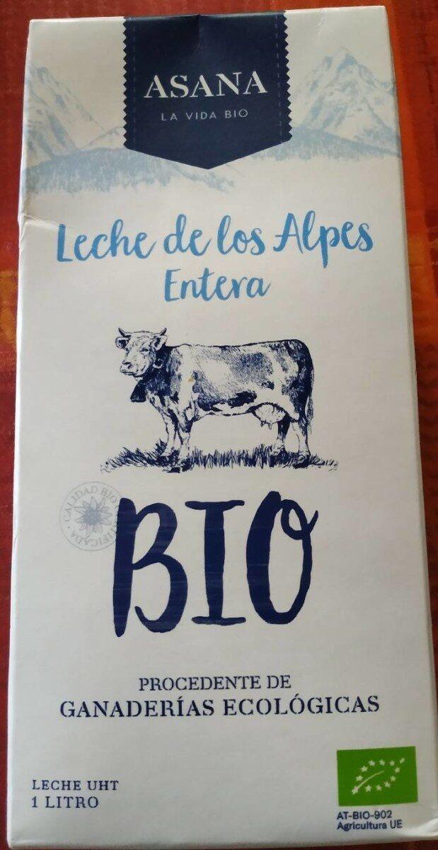 Leche entera de los Alpes bio - Producto
