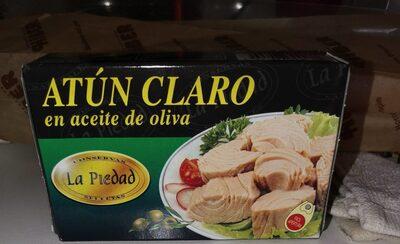 Atún claro en aceite oliva