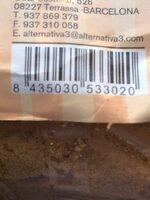 Azúcar de caña ecológica - Información nutricional - es