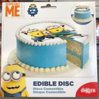 Disque comestible 16 cm Despicable Me - Product
