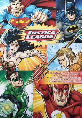 Justice League Calendario de adviento con chocolate - Produit