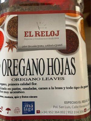 Orégano Hojas
