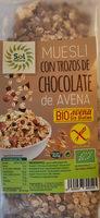 Muesli de avena con trozos de chocolate - Producte - es