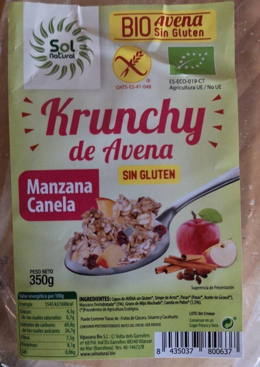 Krunchy de avena - Producte - es