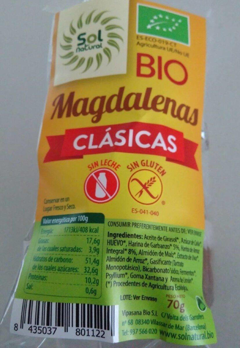 Magdalenas Clásicas Bio - Product