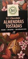 Bio Chocolate almendras tostadas - Producto - es