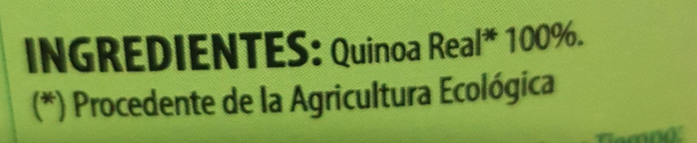 Quinoa Real Biobasic - Ingredientes - es
