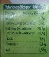 Choco Arroz BIO ( Cereales sin gluten) - Nutrition facts - es