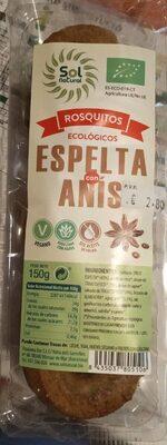 Rosquitos ecológicos espelta con anís - Producte - es