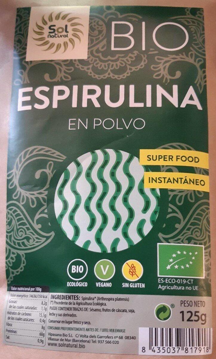 Espirulina - Prodotto - es