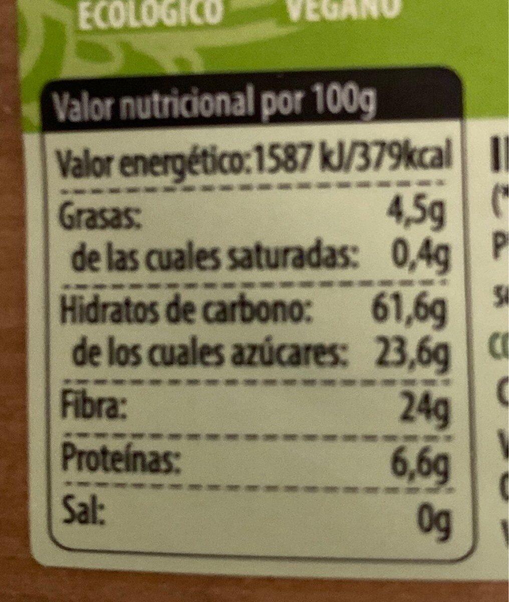Matcha en polvo - Nutrition facts