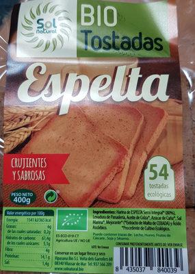 Bio Tostadas Espelta - Producto