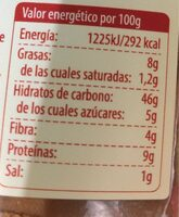 Pan tierno espelta - Voedingswaarden - es