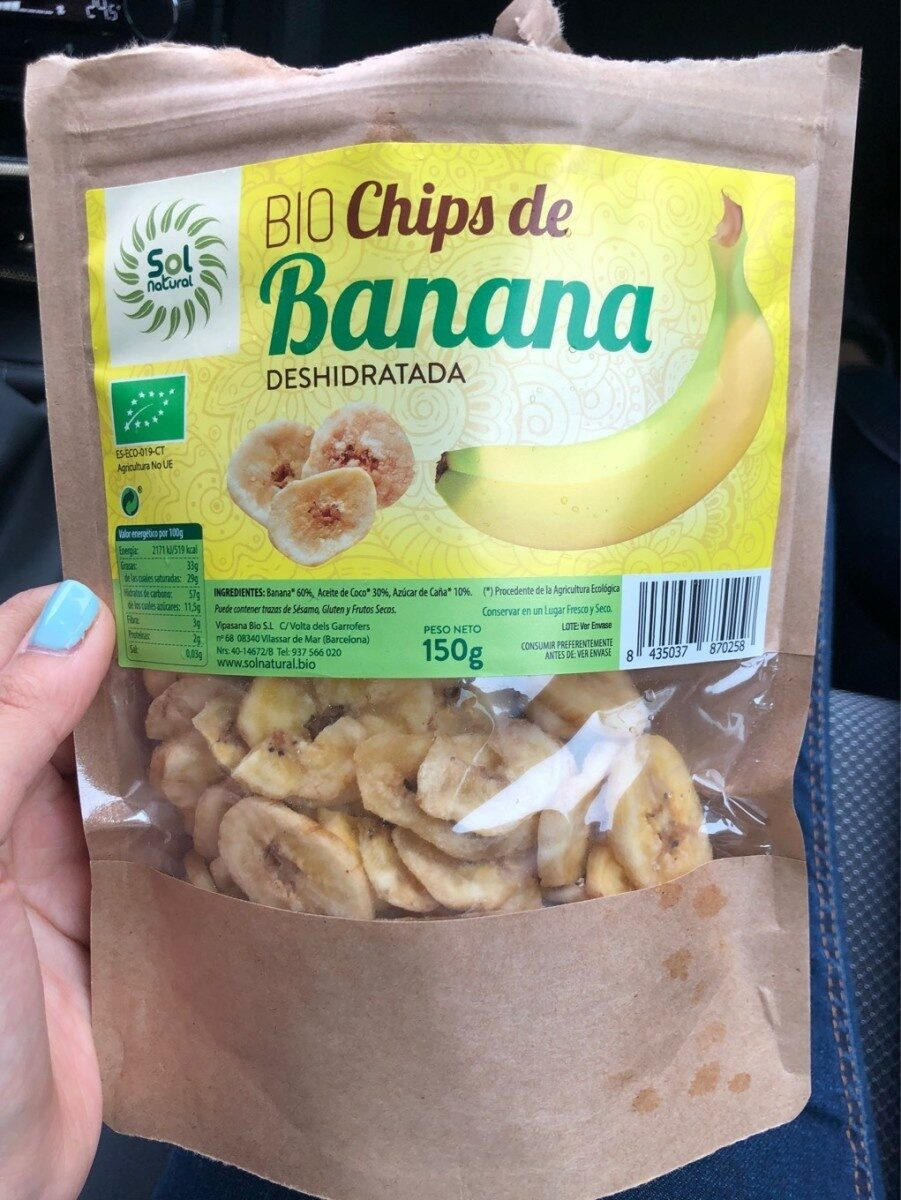 Bio chips de banana - Product
