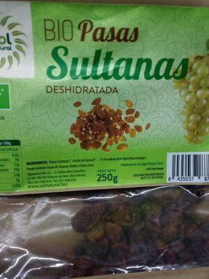 Bio pasas sultanas deshidratada - Produit - es