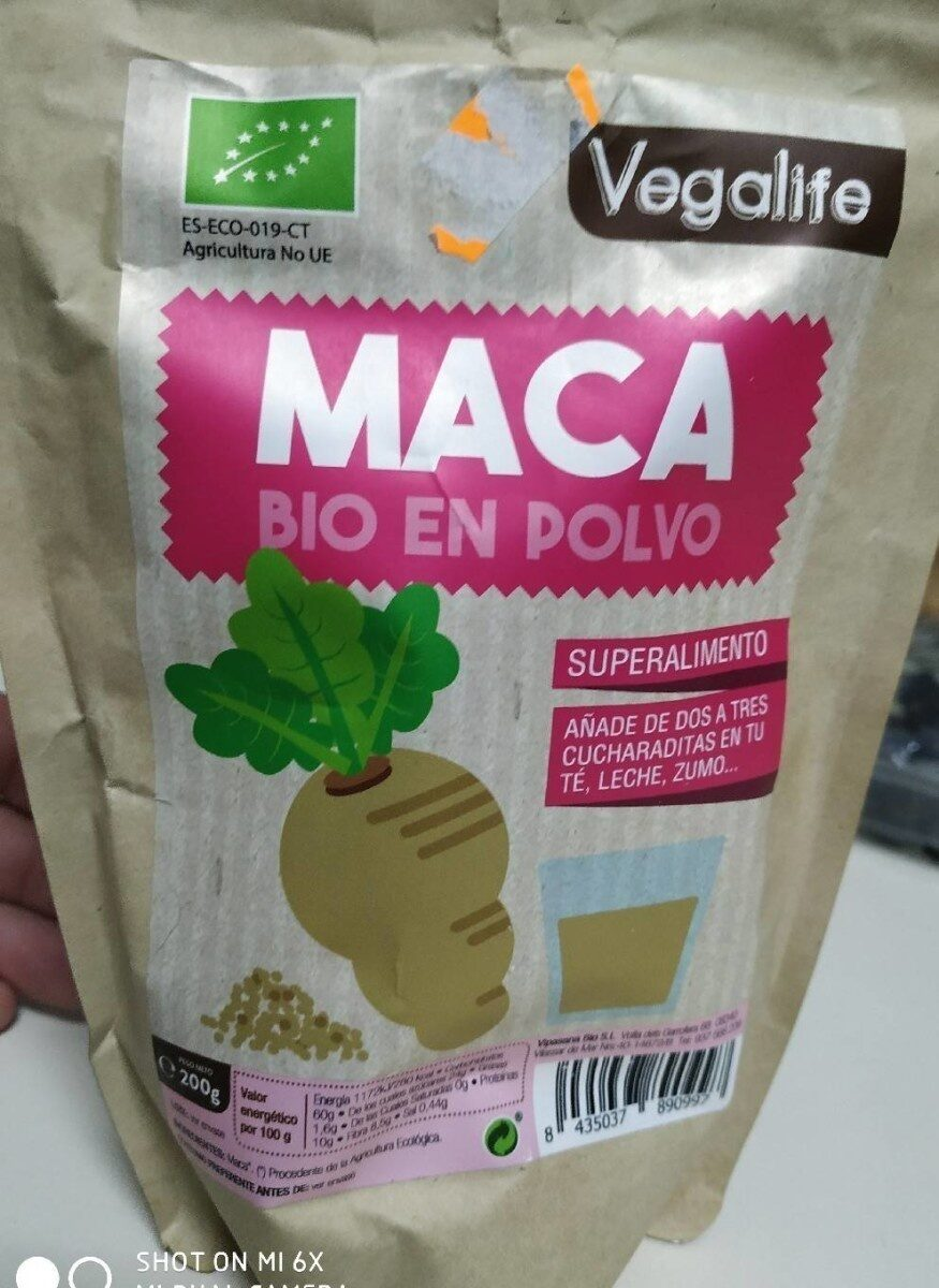 Maca bio en polvo - Prodotto - es